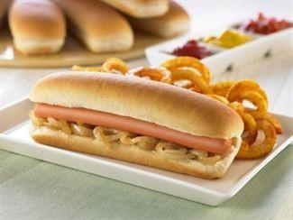 Pan de Perrito.Pan Hot Dog Precortado Congelado