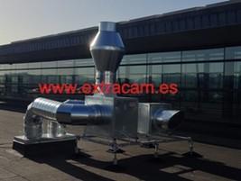 Fabricantes campanas extractoras for Extractor cocina industrial