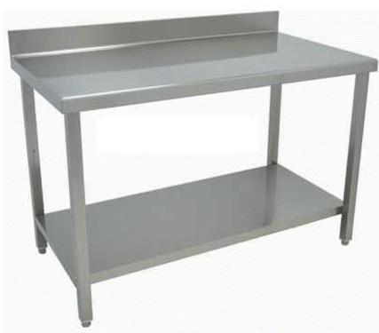Mobiliario para hostelería. Mesas, estantes, modulares acero inox.