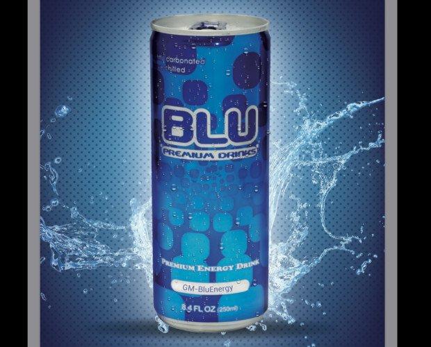 Bebidas Energéticas.BLU Energy Drink, el tradicional sin gusto a jarabe
