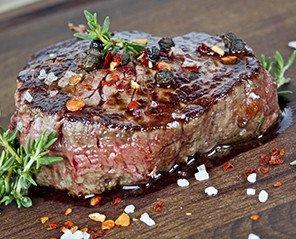 Carnes. Variedad de cortes y carnes