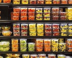 Envases. Variedad de envases de un sólo uso