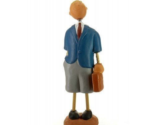 Figura de Empresario. Detalle con maletín