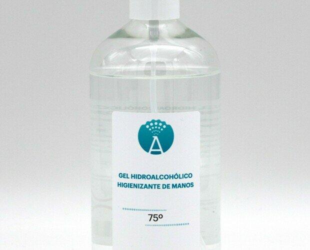 Gel hidroalcohólico . Gel hidroalcohólico eficaz en la luca contra la Covid-19