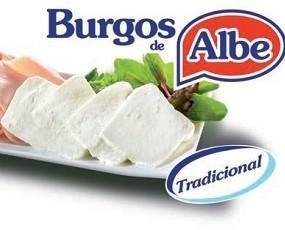 Burgos de ALBE. Queso fresco elaborado al estilo tradicional