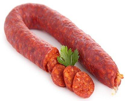 Chorizo caseros. Receta familiar