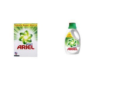 Detergentes. El mejor rendimiento