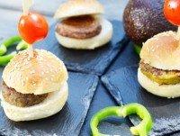 Mini Hamburguesas Vegetales Surtidas
