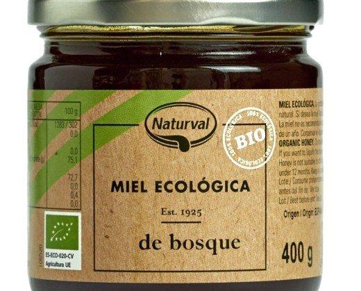 Miel Ecológica.Ingredientes Miel ecológica de Bosque.