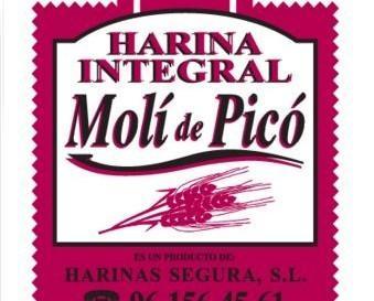 Harina de Trigo.Molí de Pico tradicional