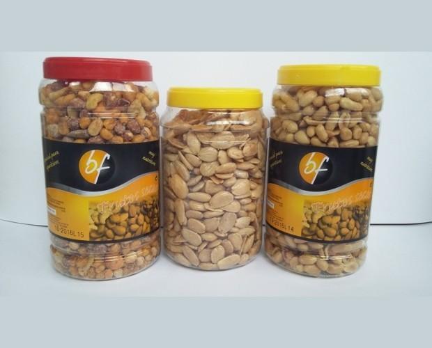 Frutos secos envasados. Formato hostelería