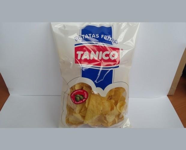 Patatas. Patatas envasadas