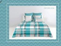 Coprileto oxford azul