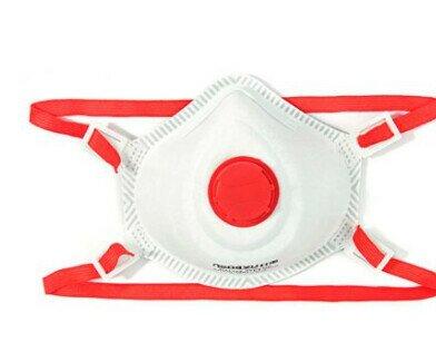 Mascarilla FFP3 NR. Protección contra virus, bacterias, esporas, agentes venenosos, polvo, humo y aerosol