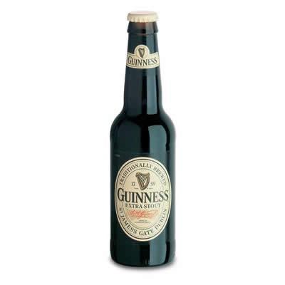 Cerveza Guinness. Cerveza Stout irlandesa