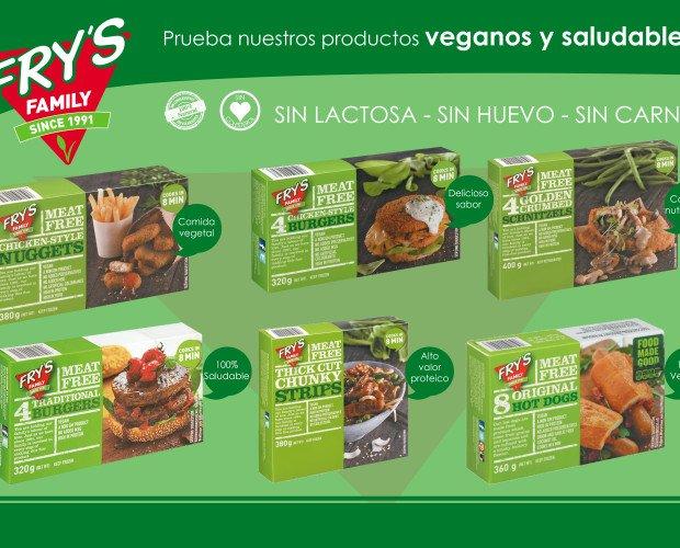 Fry's Family. Gran surtido de los reconocidos productos veganos Fry's Family para toda Canarias