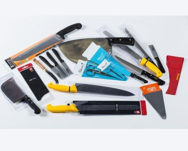 Herramientas variadas. Herramientas, cuchillos, etc.