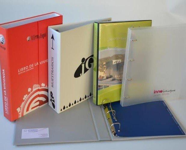Accesorios de Archivos.Archivadores de varias clases
