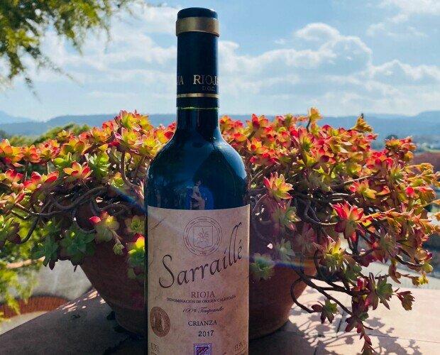 DOCA Rioja Sarraillé Crianza 2017. Variedad 100% Tempranillo  Graduación 13,5% Vol.  Madera 14 meses en Barrica