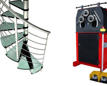 Curvadora De Tubos y Perfiles MC400. Fabricada en chapa de acero soldado y mecanizado