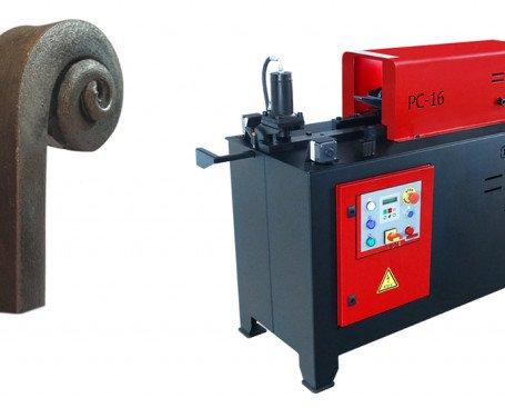 Máquina de Forja en Caliente PC16. Moldea la punta forjada en forma de caraco