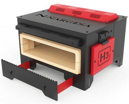 Horno de Forja H3. Diseñado para calentar hierros de manera mas eficiente