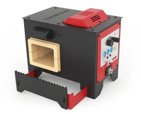 Horno de Forja H1. Consume hasta un 75% menos gas y alcanza mayor temperatura que cualquier horno de su categoría.