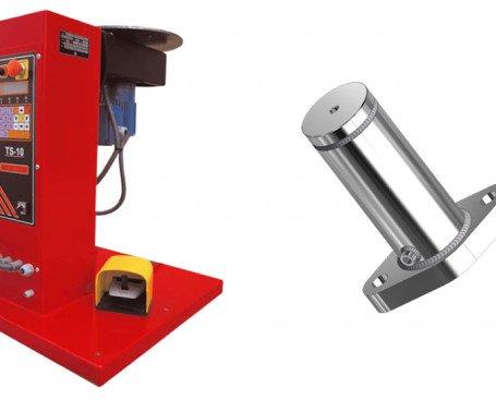 Posicionador de Soldadura TS10. Equipado con un panel de control que lo convierten en uno de los más completos y fiables del mercado