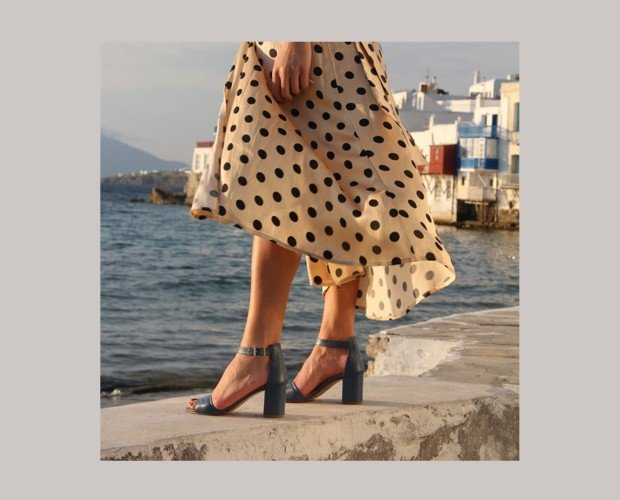 Sandalia de Piel. Un modelo clásico y siempre a la moda