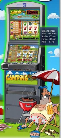 Máquinas recreativas. Camping cash tipo B mixta (rodillos y vídeo)
