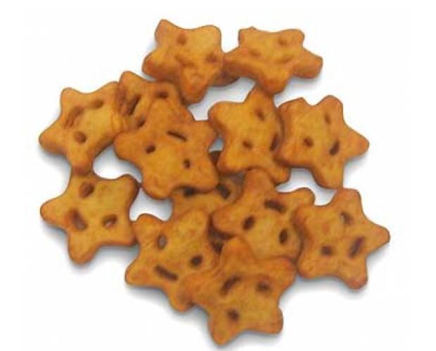 Patatas. Tenemos patatas fritas congeladas con forma de estrella