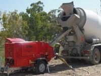 camión con cemento