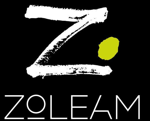 Logotipo negativo fondo negro. Logo de la empresa con fondo negro
