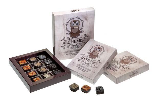 Alchemist. Bombones de especias de 6 y 12 unidades