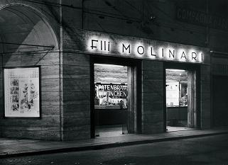 Bar años 60. Caffè Molinari, en los años 60