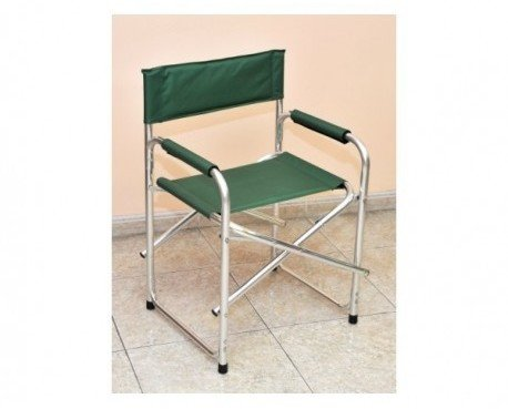 Silla director. Color verde