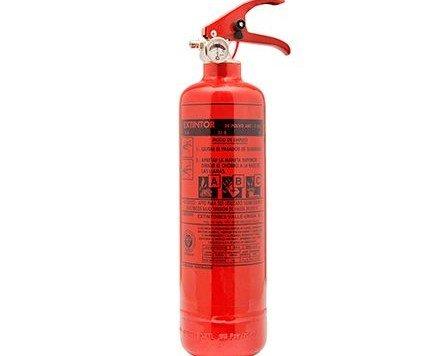 Extintor 1kg polvo ABC. Fabricado en España con materiales de primera calidad