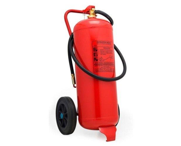 Extintor móvil 50 litros. Extintor de agua + aditivos ideal para su negocio o empresa