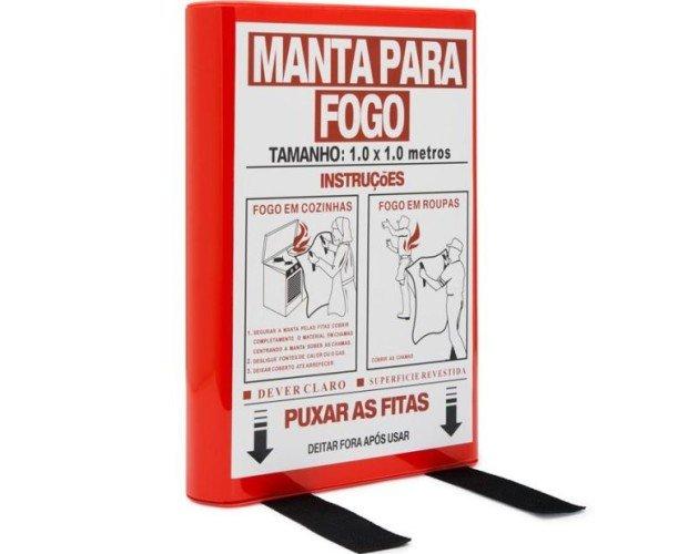 Manta ignifuga. Perfecta para la protección de fuegos ante el caso de conato de incendio