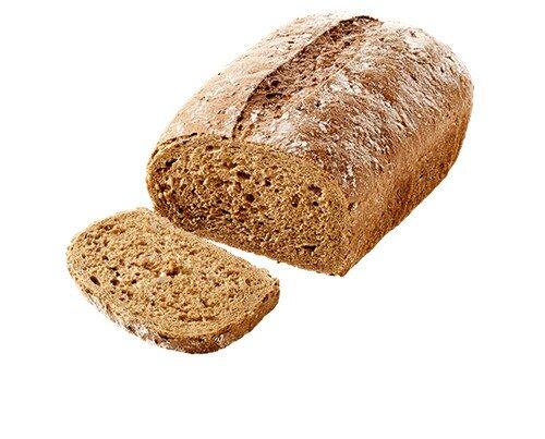 Pan orgánico. Pan de fibras de delicioso sabor