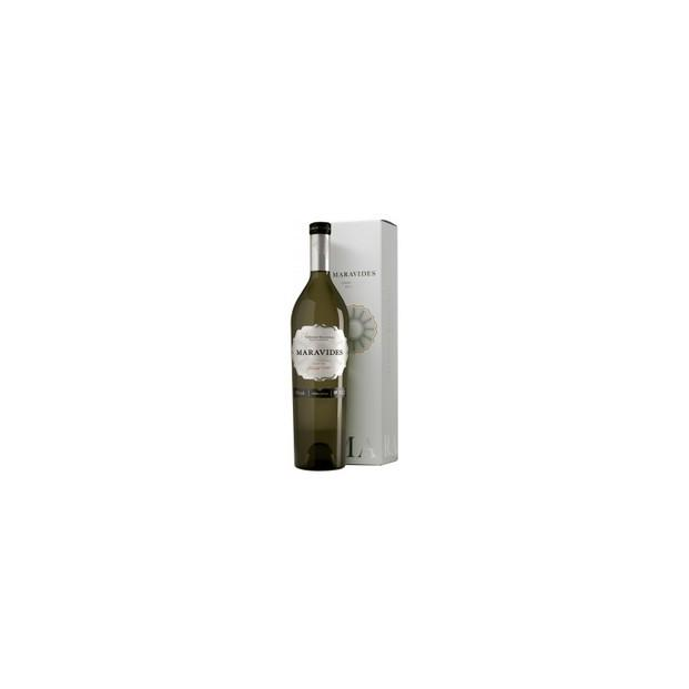 Maravides Chardonnay. Blanco fermentado en barrica