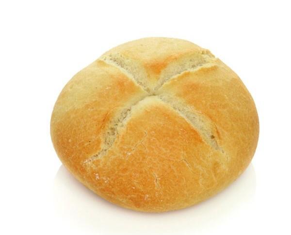 Pan redondo. Pan de alcachofas de 110 gramos.