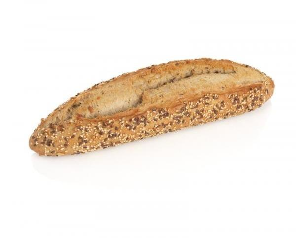 Pan con semillas. Pan con semillas en barra de 210 gr. Pan alemán.