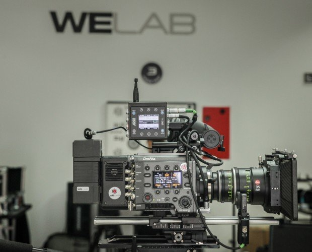 Alquiler de Equipo Audiovisual.Cámara de cine digital Full Frame Sony VENICE.