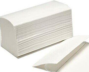 TOALLA SECAMANOS ZIG ZAG. Reciclada. Tissue 2C y Tissue. Diferentes formatos.