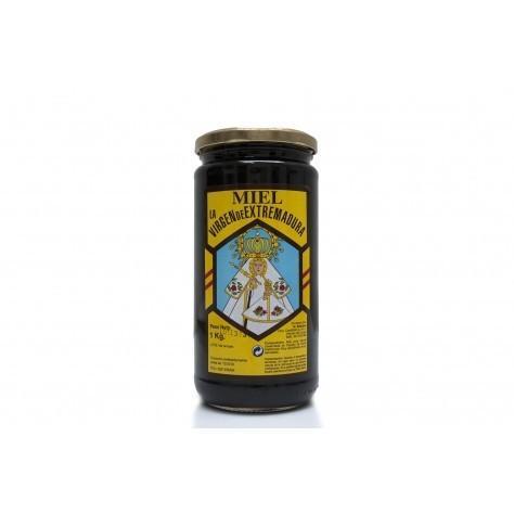 Miel de encina 1 kg. Miel muy rica en minerales y en hierro