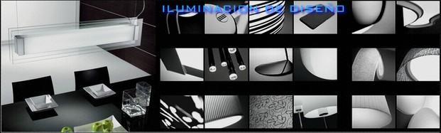 Diseño de ambientes. Variedad en lámparas.