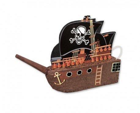 Decoración para Fiestas y Celebraciones. Piñatas. Forma de barco pirata