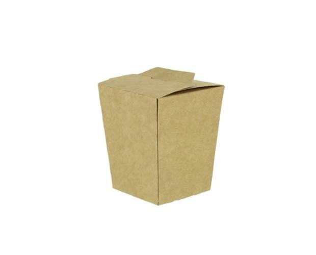Cofre de Patatas Pequeño kraft. Cajas para patatas fritas y demás fritos