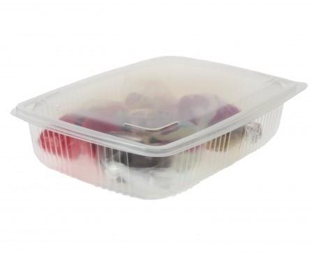 Envase de plástico rectangular. Capacidad de 2500cc